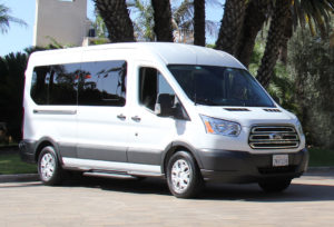 15 Passenger Van Rental Orange County
